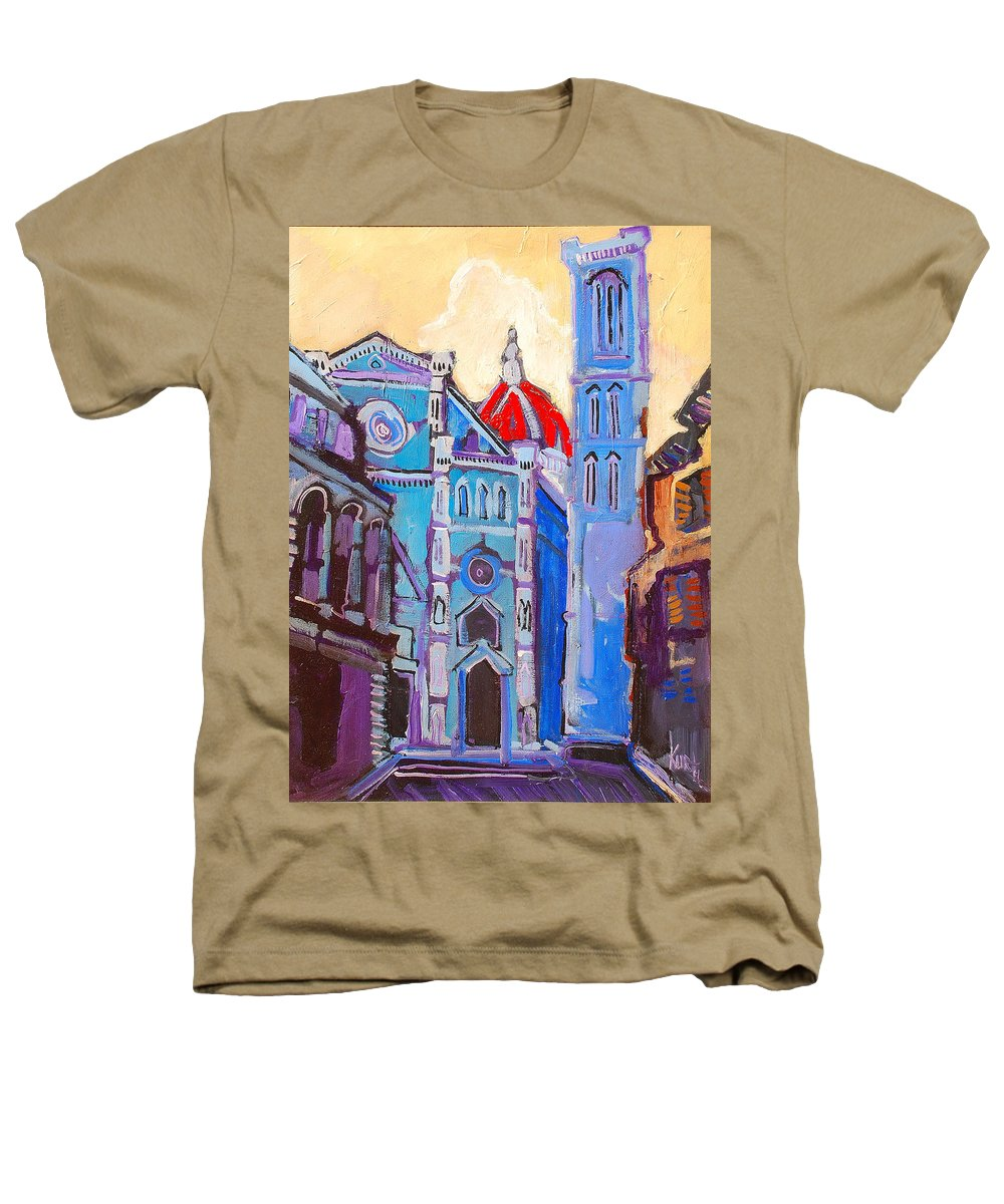 Florence Heathers T-Shirt featuring the painting In The Middle Of by Kurt Hausmann