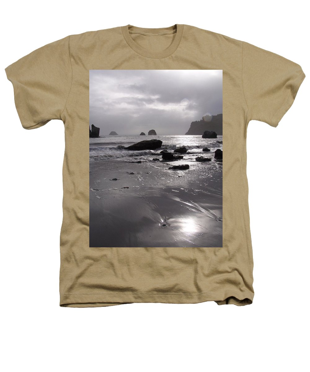Beach Heathers T-Shirt featuring the photograph Indian Beach by Gale Cochran-Smith