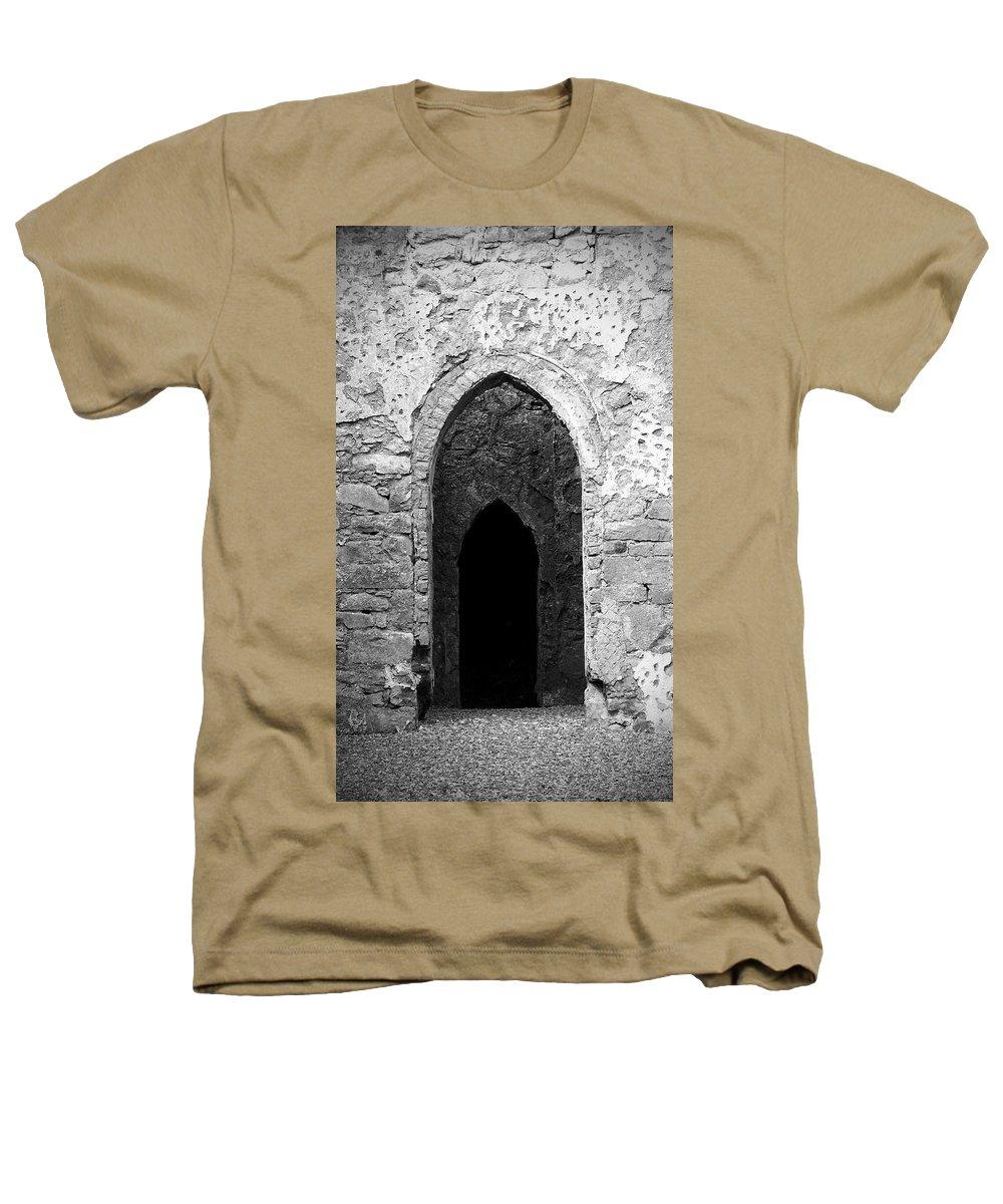 Ireland Heathers T-Shirt featuring the photograph Inner Sanctum Fuerty Church Roscommon Ireland by Teresa Mucha