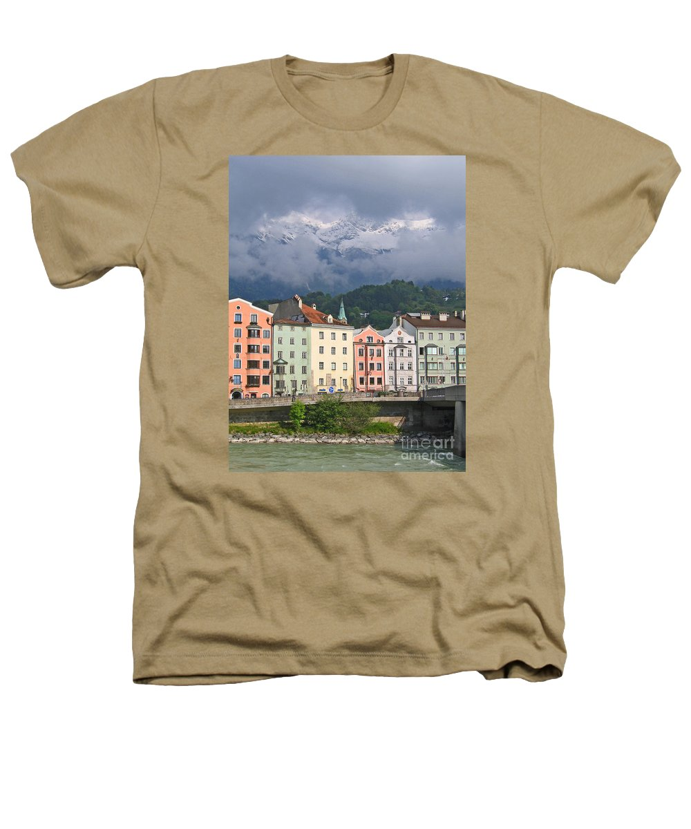 Innsbruck Heathers T-Shirt featuring the photograph Innsbruck by Ann Horn