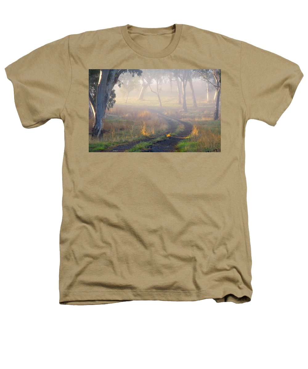 Mist Heathers T-Shirt featuring the photograph Into The Mist by Mike Dawson