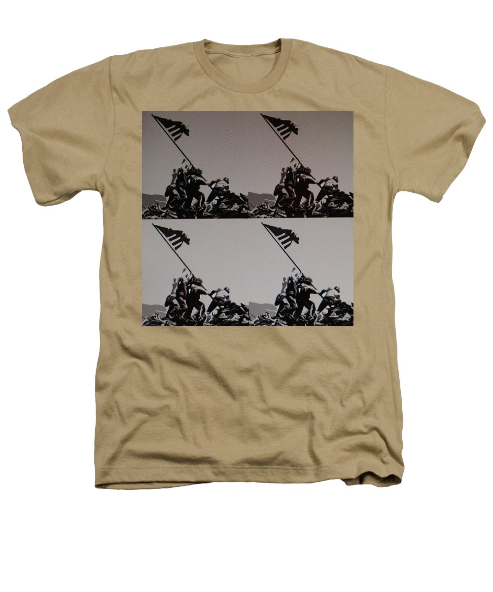 Pop Art Heathers T-Shirt featuring the photograph Iwo Jima by Rob Hans