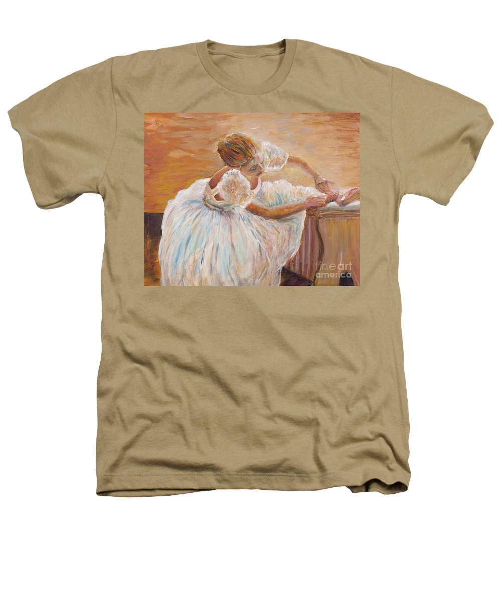 Dancer Heathers T-Shirt featuring the painting Kaylea by Nadine Rippelmeyer