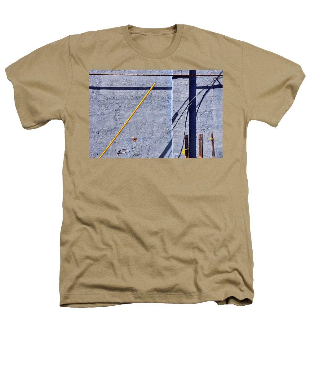 Skip Hunt Heathers T-Shirt featuring the photograph Krishna Blue by Skip Hunt