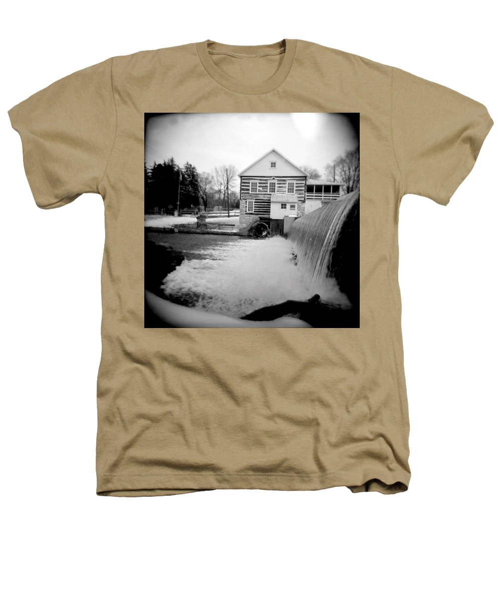 Photograph Heathers T-Shirt featuring the photograph Laughlin Mill by Jean Macaluso