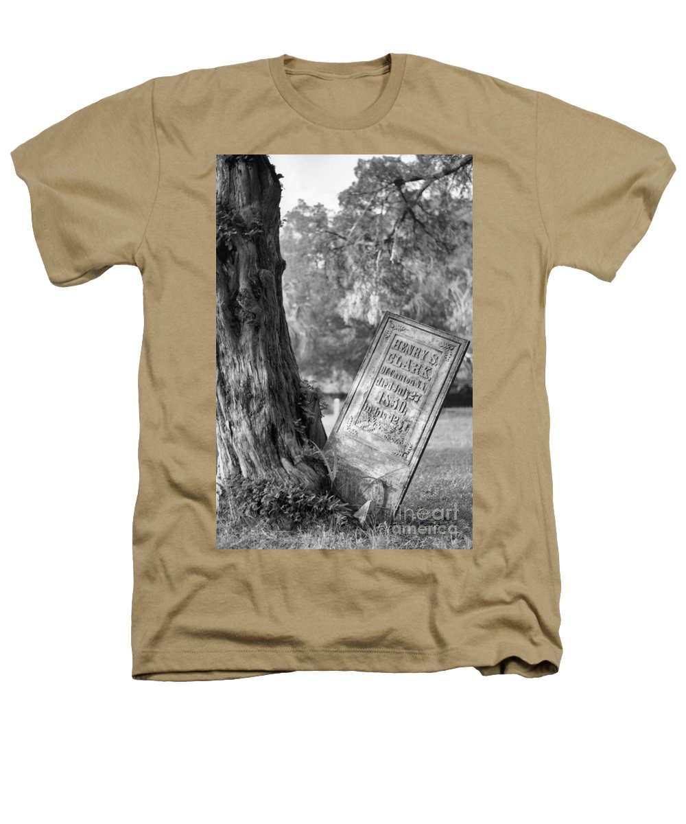 Graves Heathers T-Shirt featuring the photograph Life After Death by Richard Rizzo