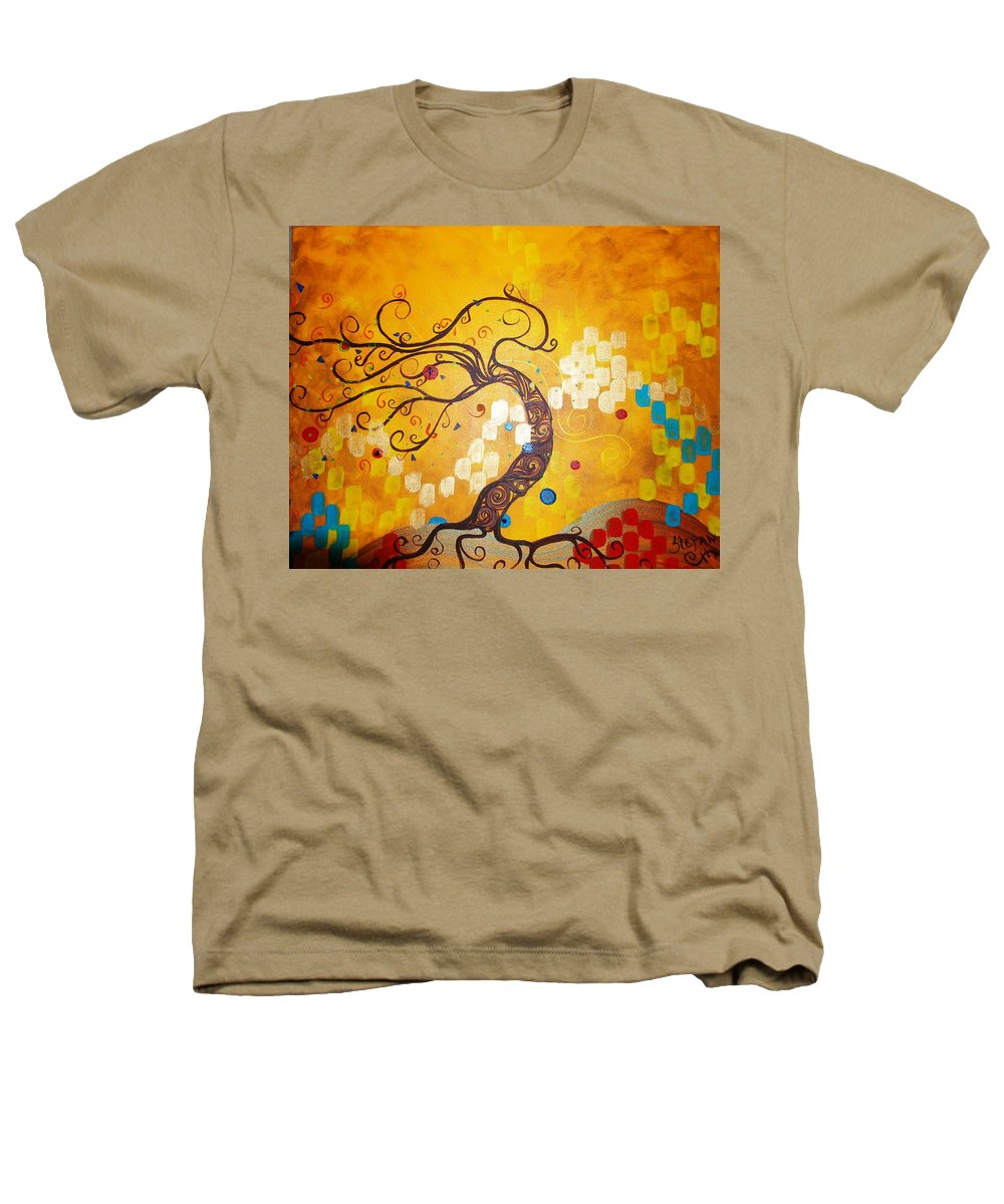 Heathers T-Shirt featuring the painting Life Is A Ball by Stefan Duncan
