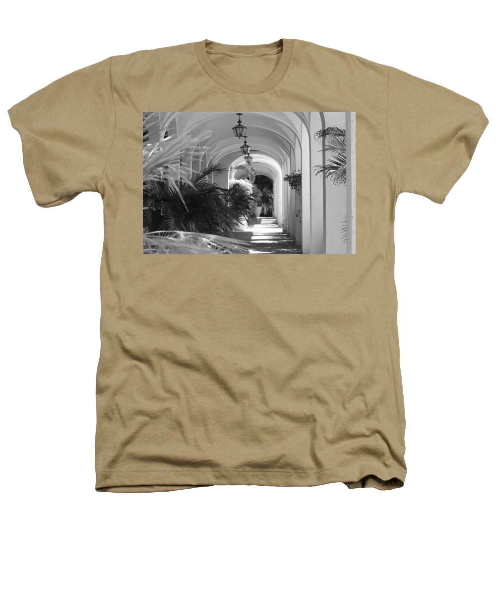 Architecture Heathers T-Shirt featuring the photograph Lighted Arches by Rob Hans