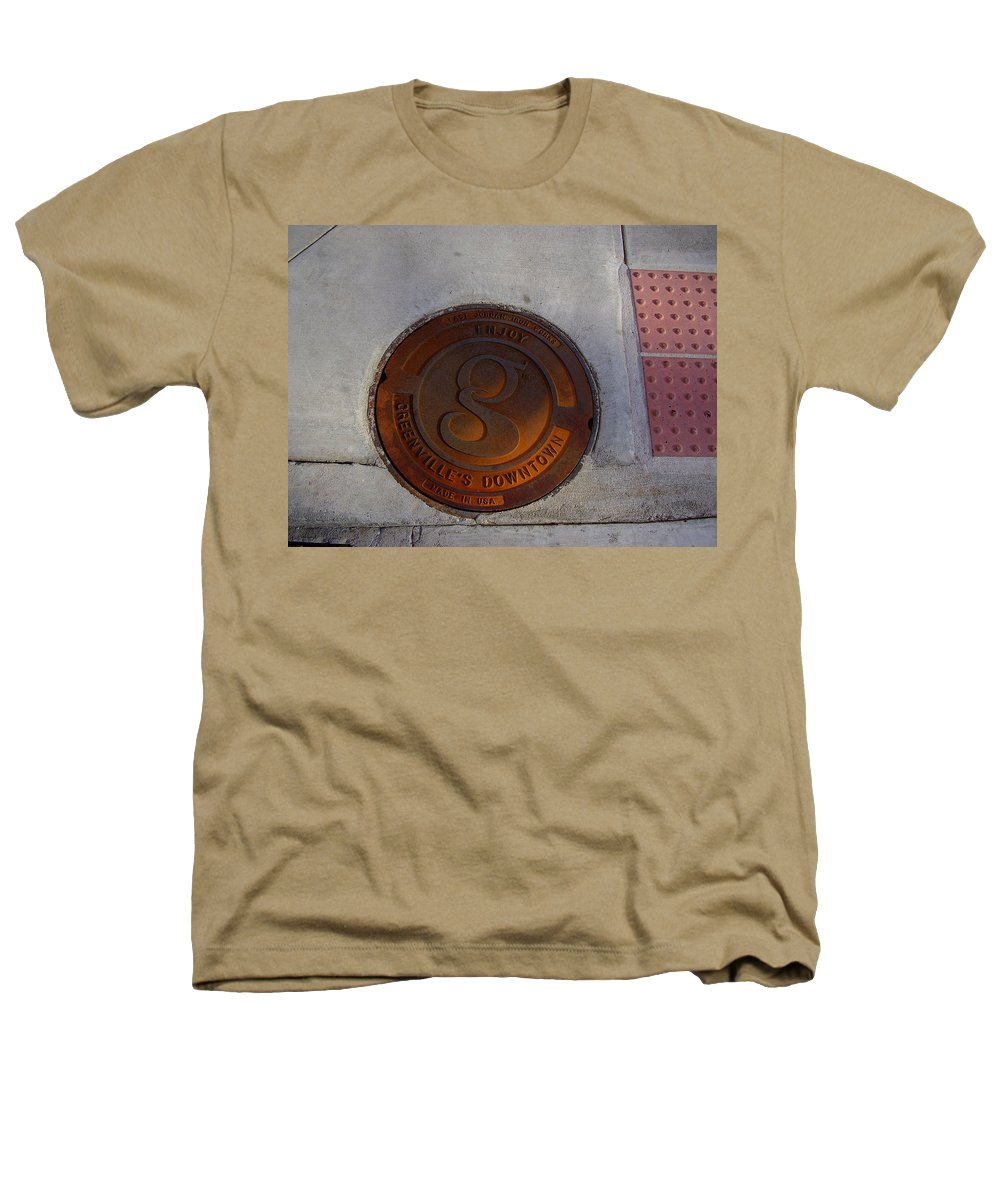 Manhole Heathers T-Shirt featuring the photograph Manhole I by Flavia Westerwelle