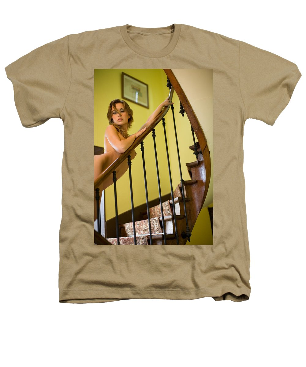 Sensual Heathers T-Shirt featuring the photograph Marie by Olivier De Rycke