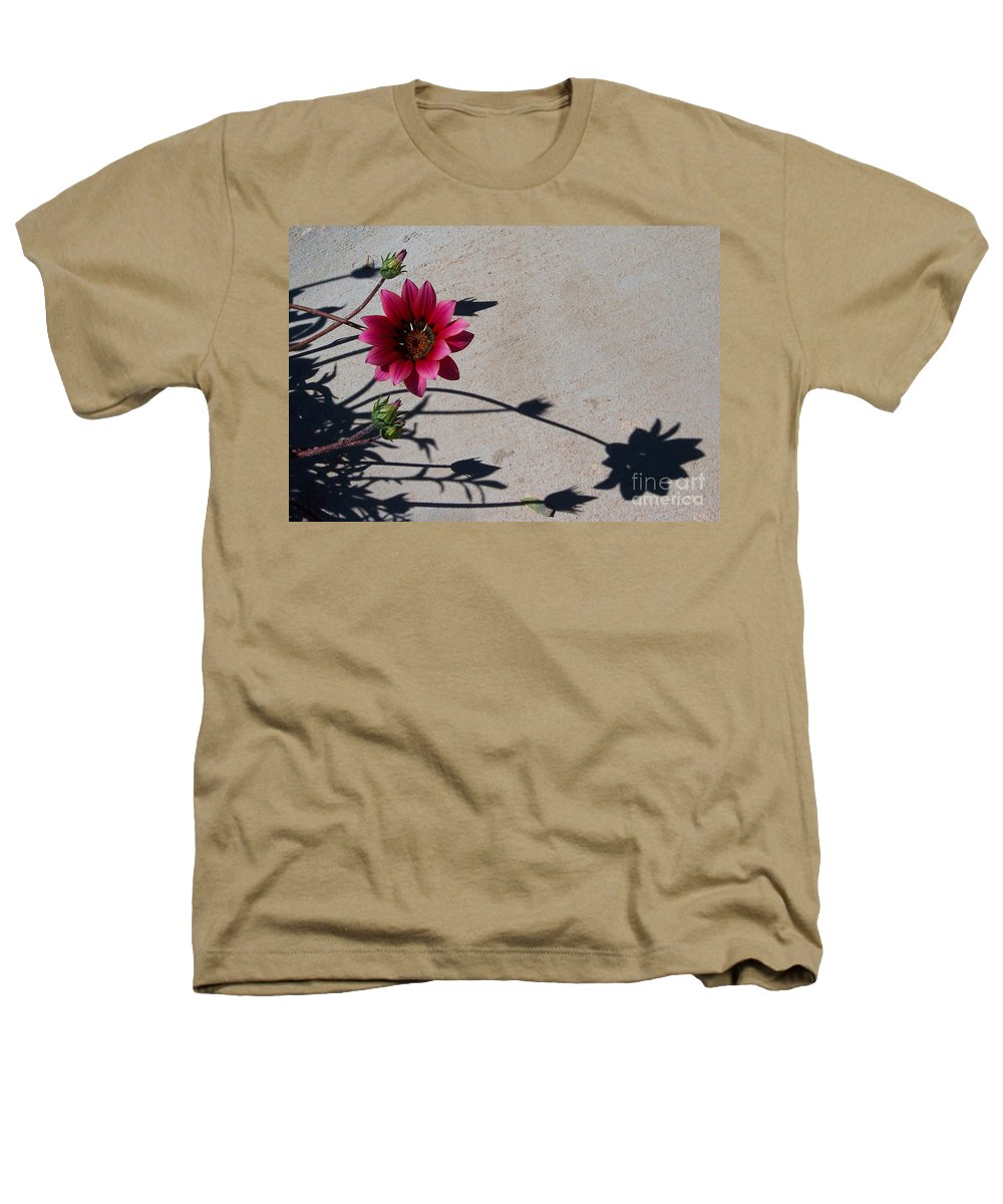 Flowers Heathers T-Shirt featuring the photograph Me And My Shadow by Kathy McClure