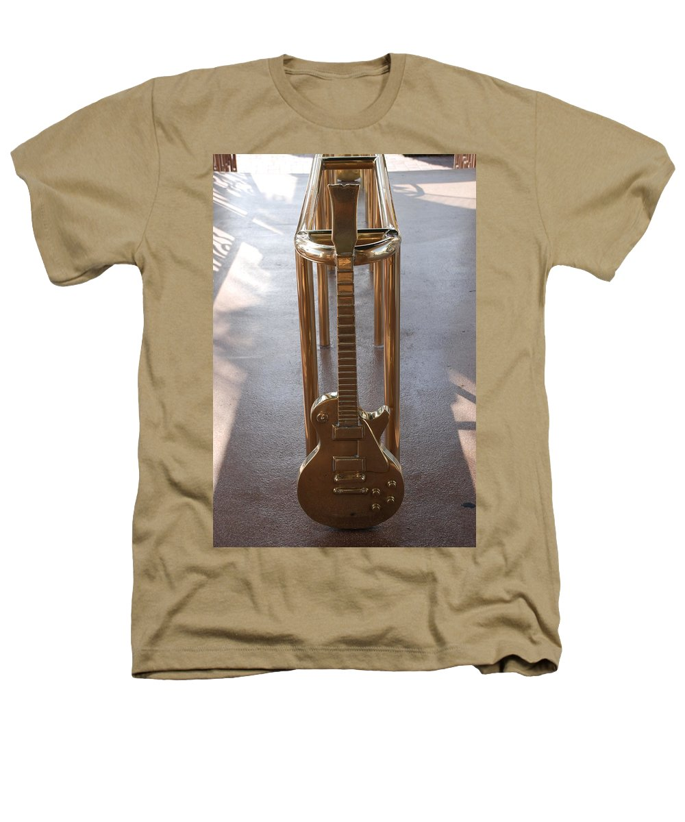 Brass Heathers T-Shirt featuring the photograph Miami Hard Rock Brass Rail by Rob Hans