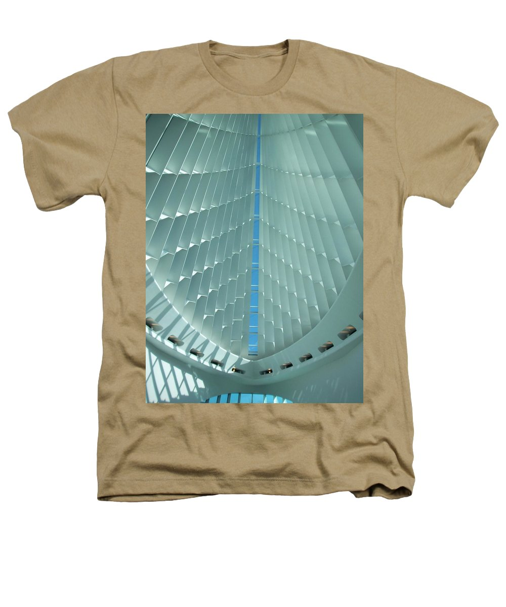 Mam Heathers T-Shirt featuring the photograph Milwaukee Art Museum Interior by Anita Burgermeister