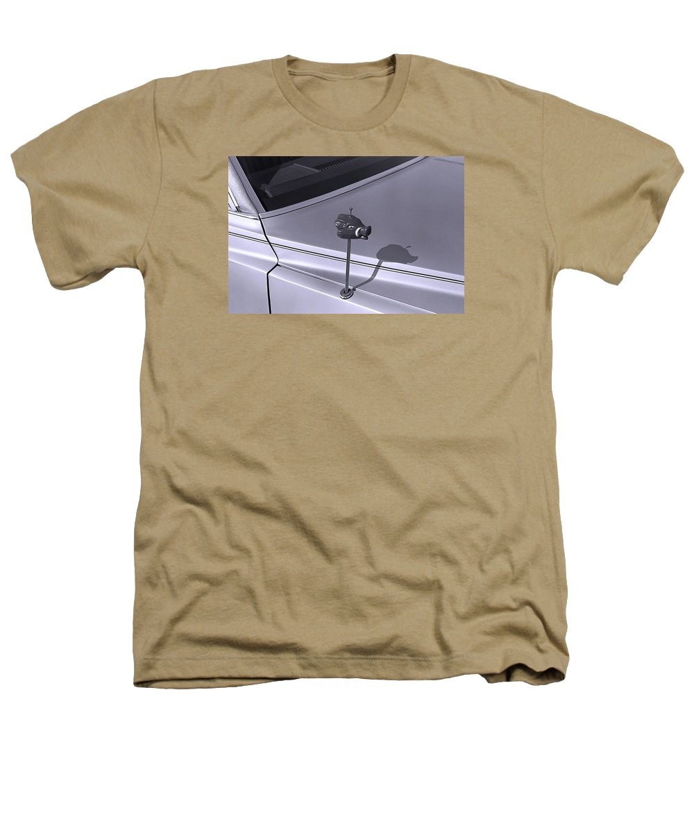 Primitive Heathers T-Shirt featuring the photograph Modern Primitive by Ted M Tubbs