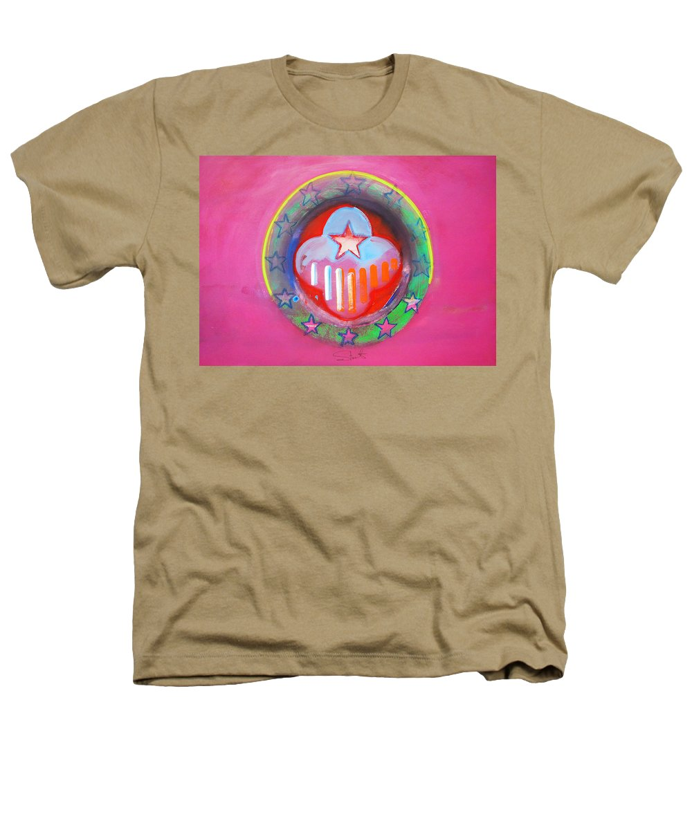 Symbol Heathers T-Shirt featuring the painting Monetary Union by Charles Stuart