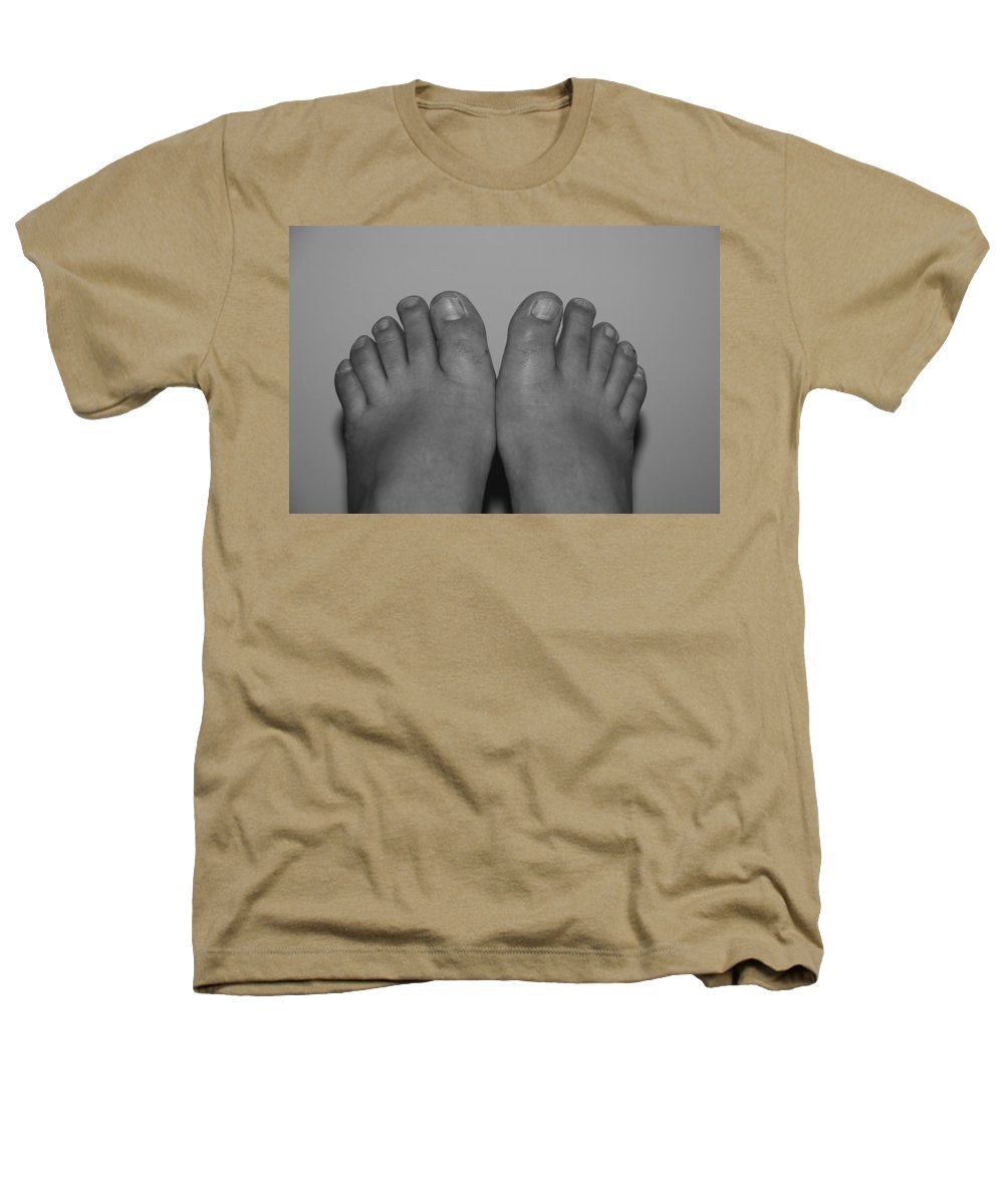 Pop Art Heathers T-Shirt featuring the photograph My Feet By Hans by Rob Hans