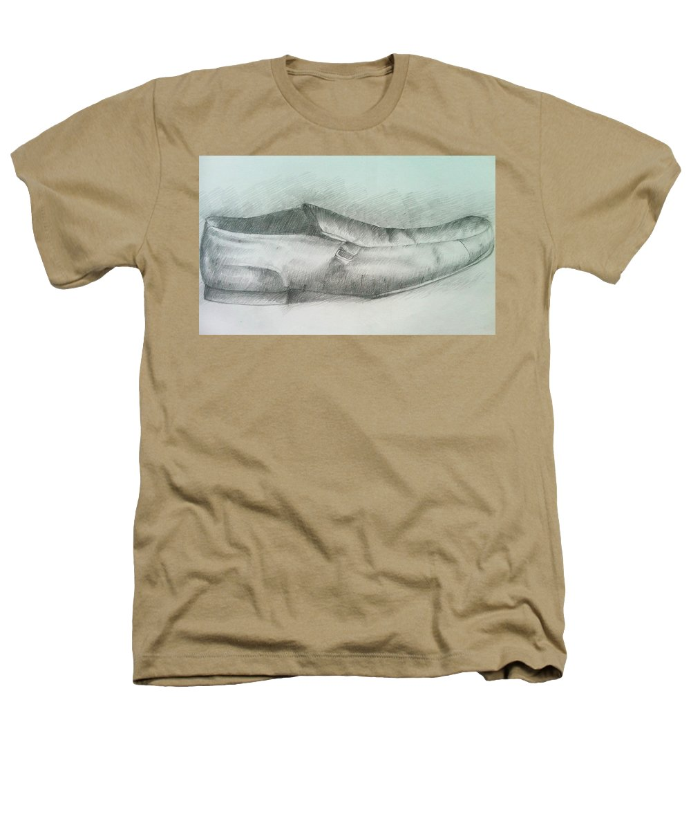 Drawings Heathers T-Shirt featuring the drawing My Shoe by Olaoluwa Smith