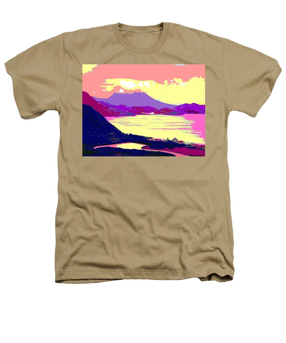 Nevis Heathers T-Shirt featuring the photograph Nevis From The Penninsula by Ian MacDonald
