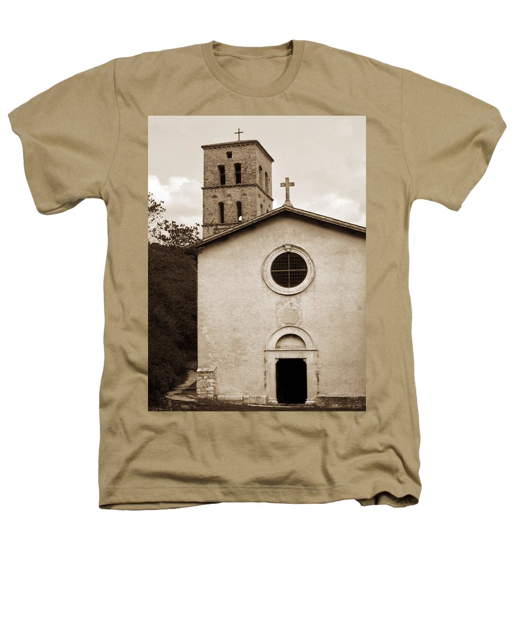 Curch Heathers T-Shirt featuring the photograph Nice Old Church For Wedding by Marilyn Hunt