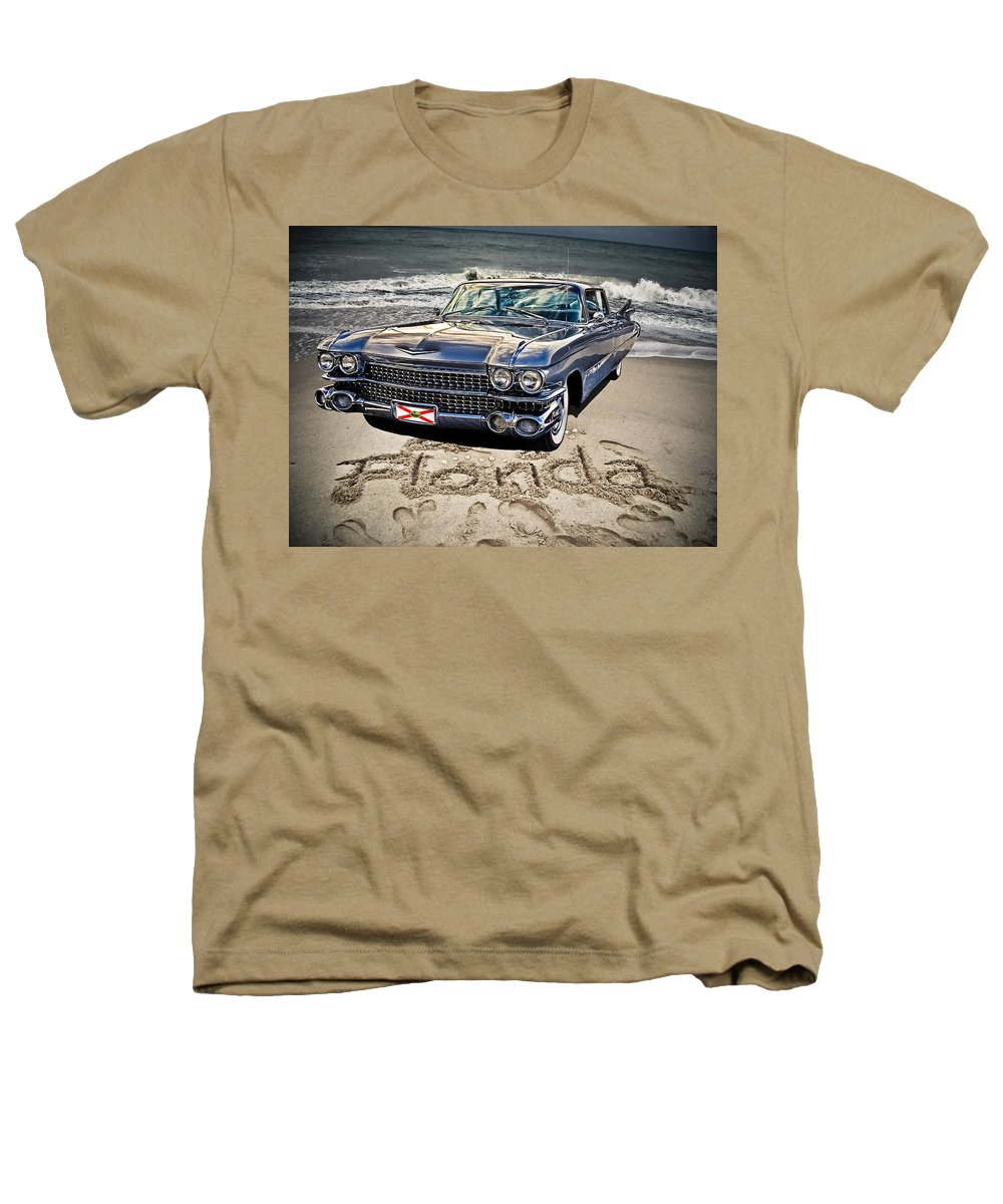 Cadillac Heathers T-Shirt featuring the photograph Ocean Drive by Joachim G Pinkawa