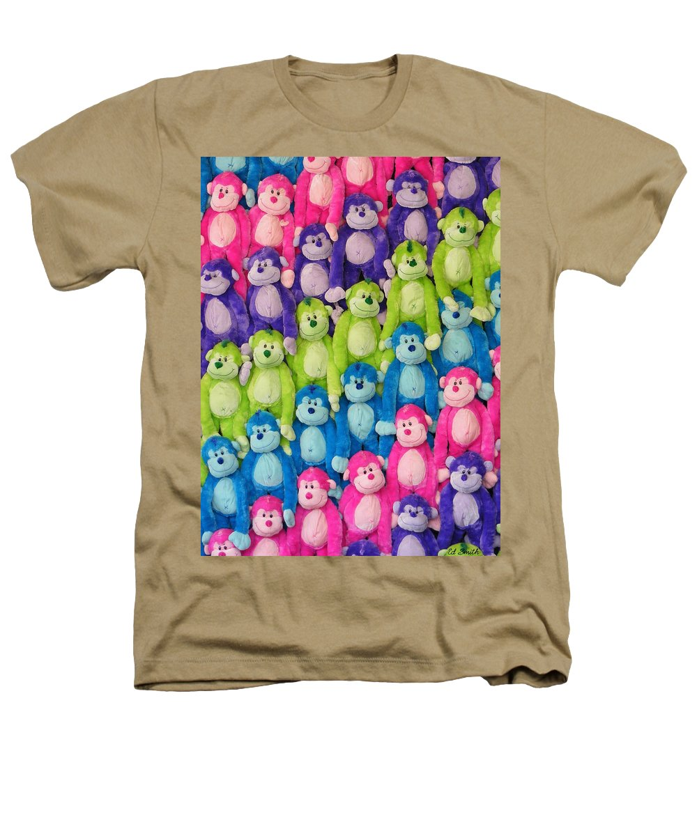 Ok Smiles Heathers T-Shirt featuring the photograph Ok Smiles Everyone by Ed Smith