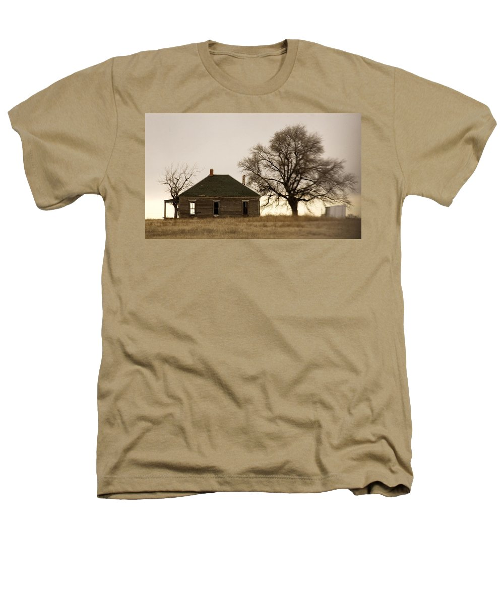 Americana Heathers T-Shirt featuring the photograph Once Upon A Time In West Texas by Marilyn Hunt