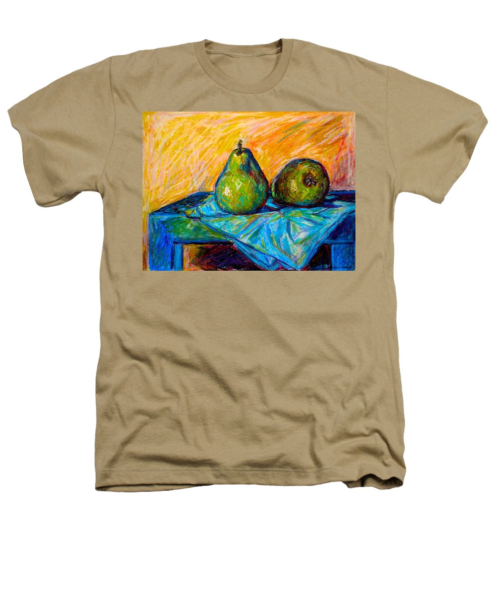 Still Life Heathers T-Shirt featuring the painting Other Pears by Kendall Kessler