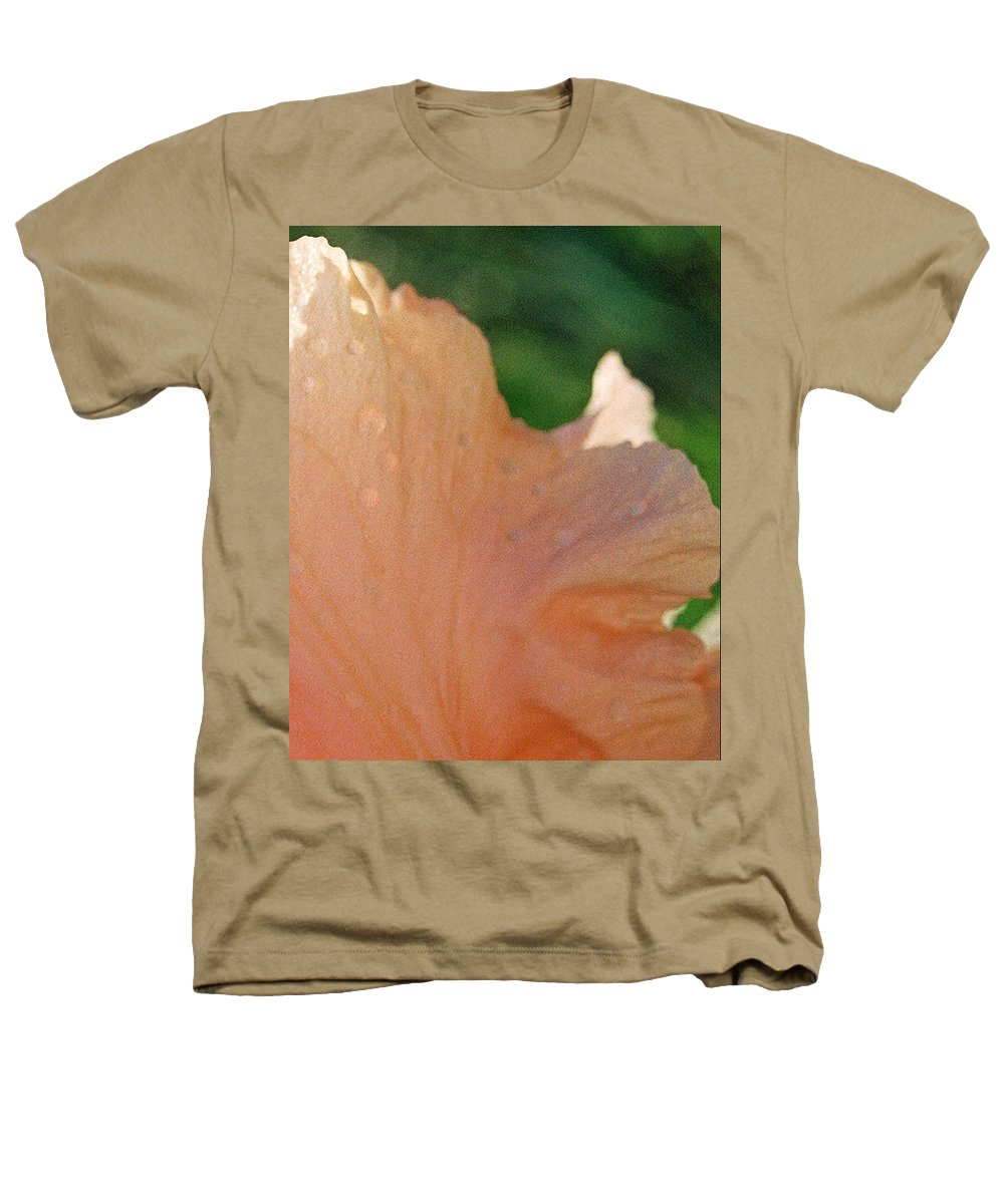 Abstract Heathers T-Shirt featuring the photograph Panel Three From Iris by Steve Karol