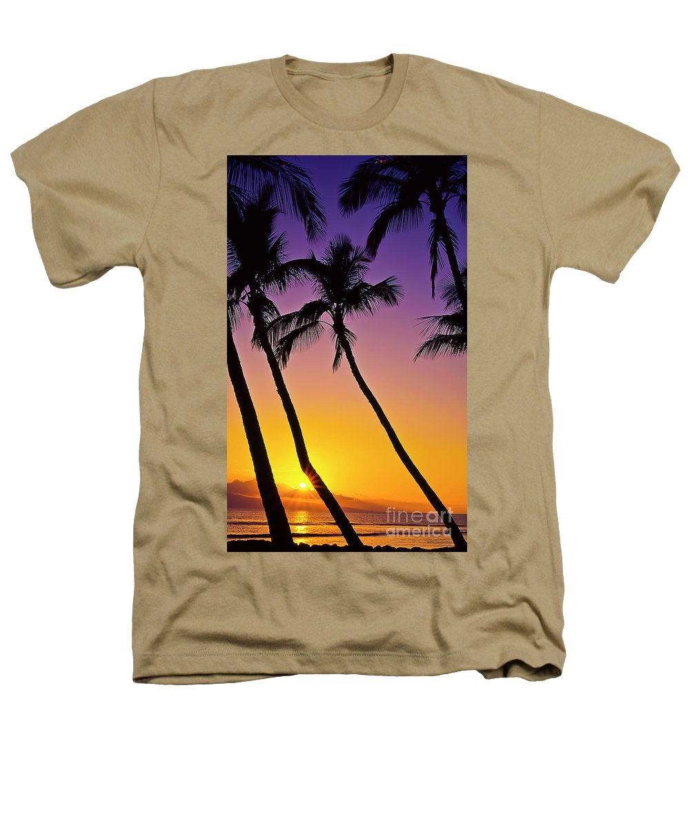 Sunset Heathers T-Shirt featuring the photograph Paradise by Jim Cazel