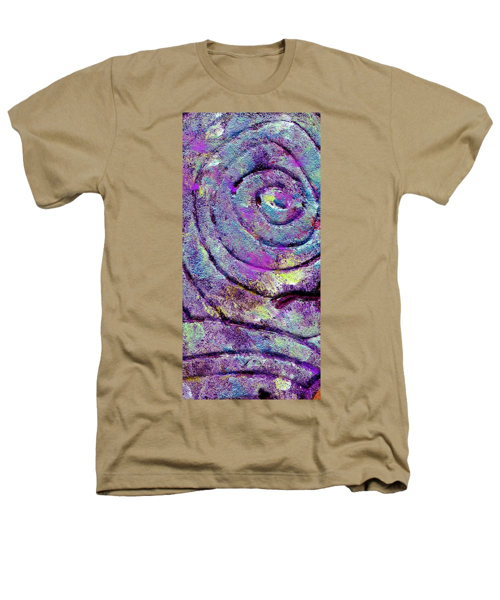 Abstract Heathers T-Shirt featuring the painting Passionate Swirl by Wayne Potrafka