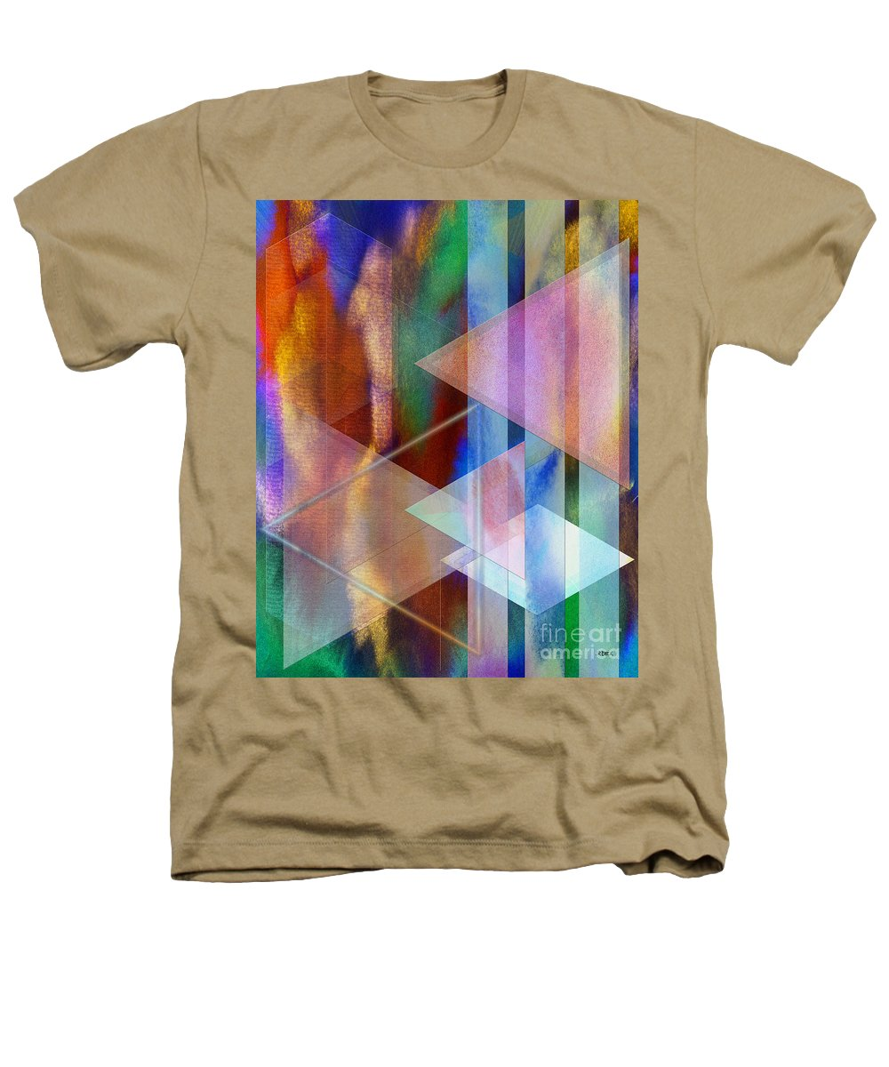 Pastoral Midnight Heathers T-Shirt featuring the digital art Pastoral Midnight by John Beck