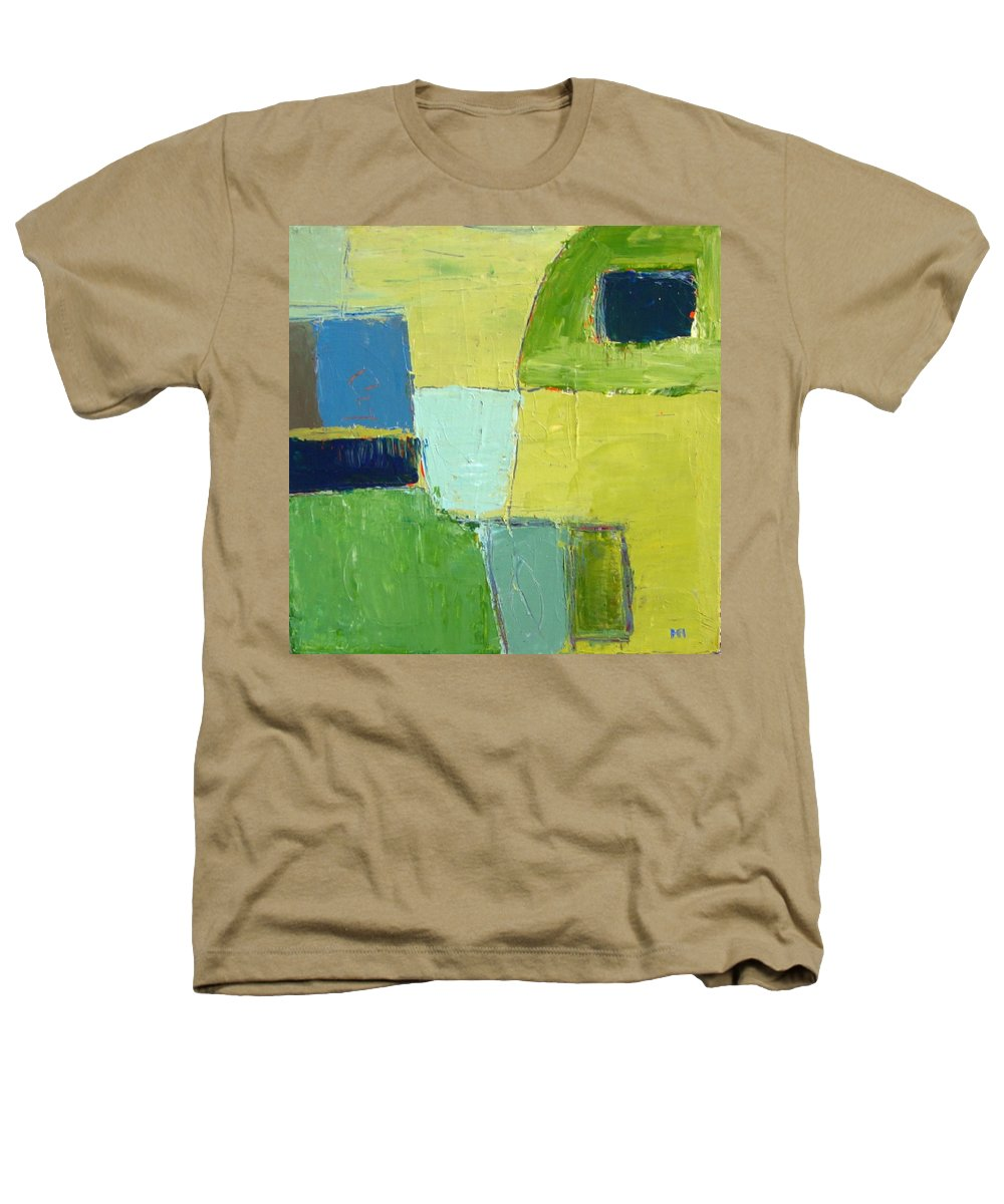 Abstract Heathers T-Shirt featuring the painting Peace 1 by Habib Ayat