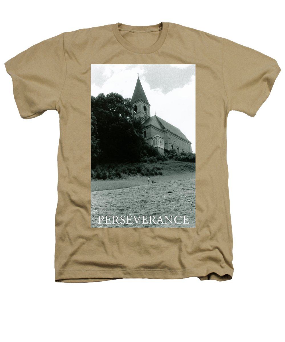 Church Heathers T-Shirt featuring the photograph Perseverance by Michelle Calkins
