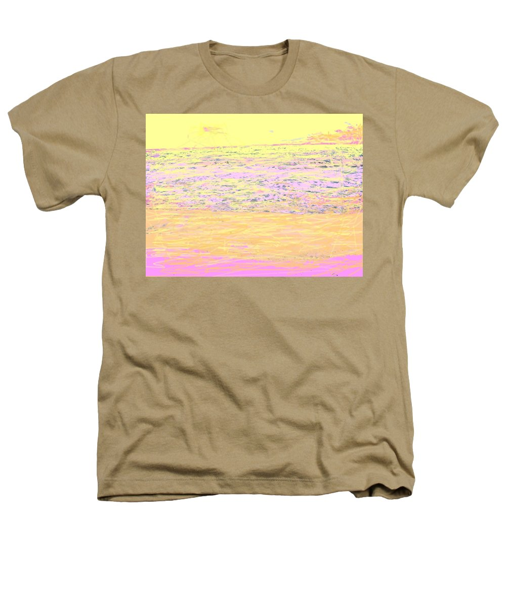 Seascape Heathers T-Shirt featuring the photograph Pineapple Sunset by Ian MacDonald