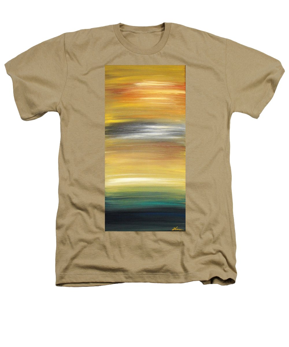 Waves Heathers T-Shirt featuring the painting Pond by Todd Hoover