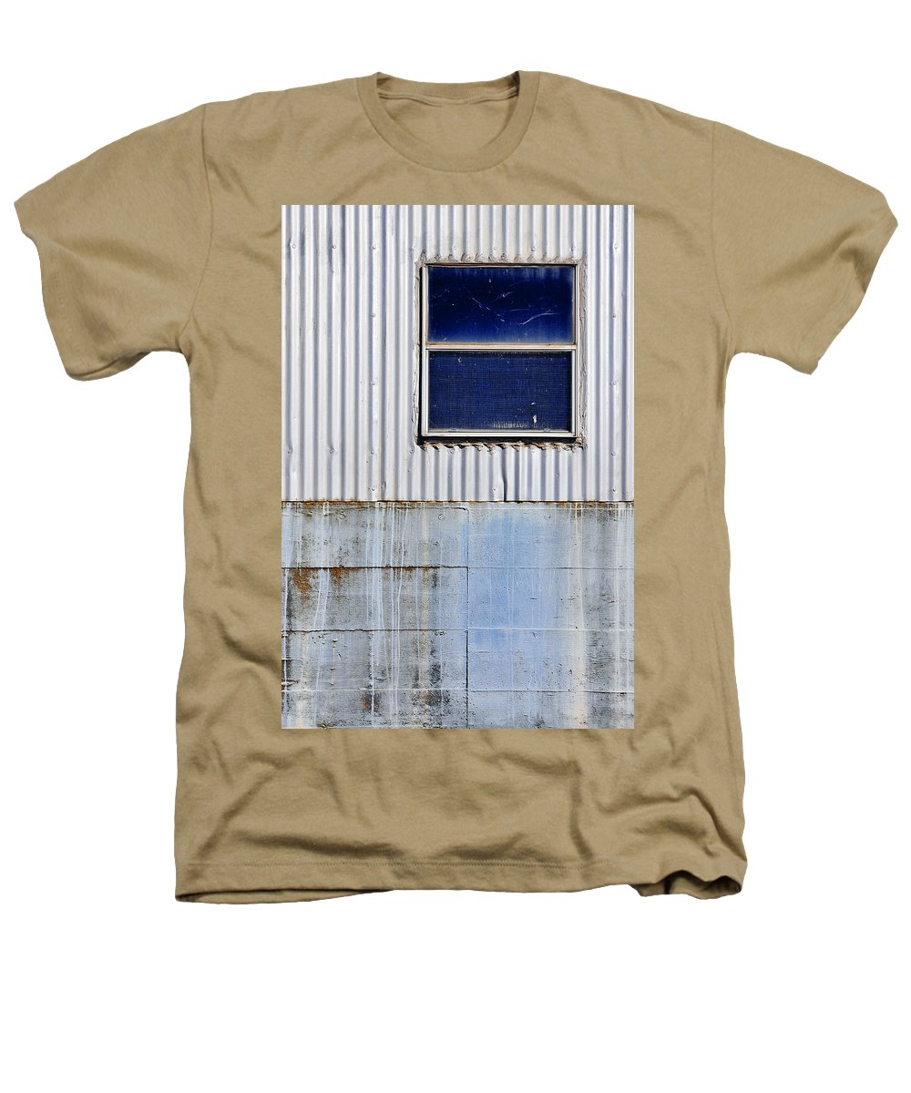 Skip Hunt Heathers T-Shirt featuring the photograph Powder Blu by Skip Hunt