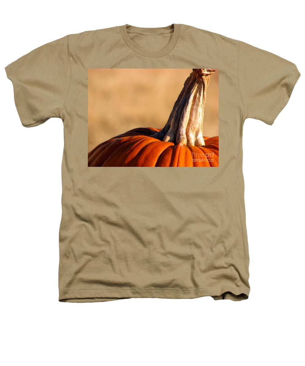 Pumpkins Heathers T-Shirt featuring the photograph Pumpkin by Amanda Barcon