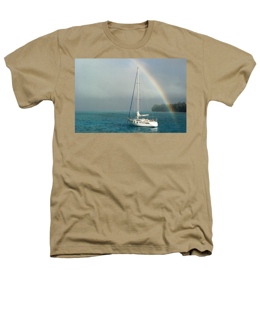 Charity Heathers T-Shirt featuring the photograph Rainbow by Mary-Lee Sanders