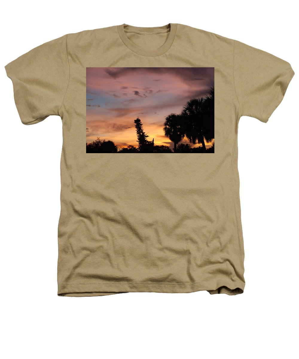 Sunset Heathers T-Shirt featuring the photograph Rainbow Sunset by Rob Hans
