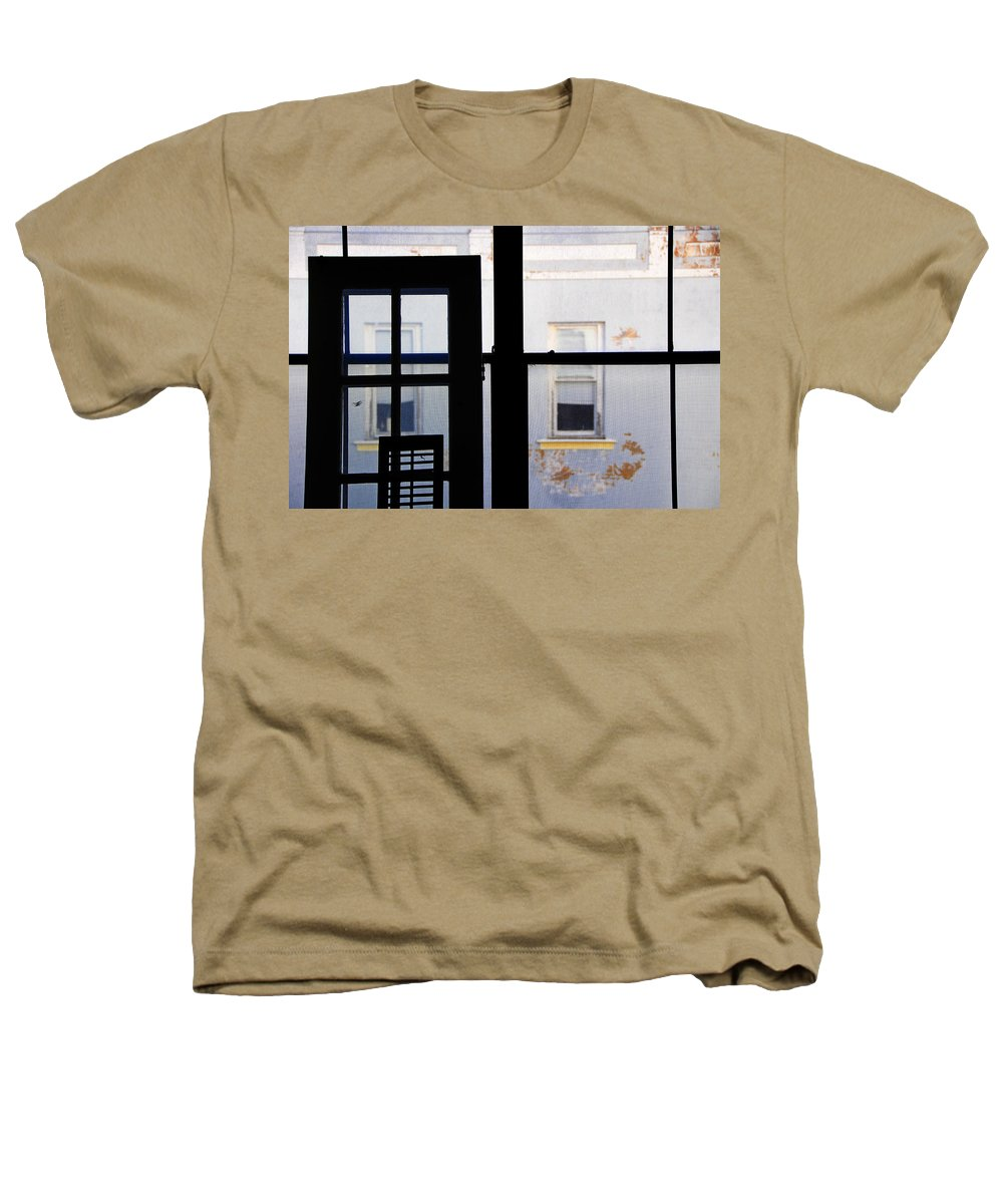 Architecture Heathers T-Shirt featuring the photograph Rear Window 3 by Skip Hunt