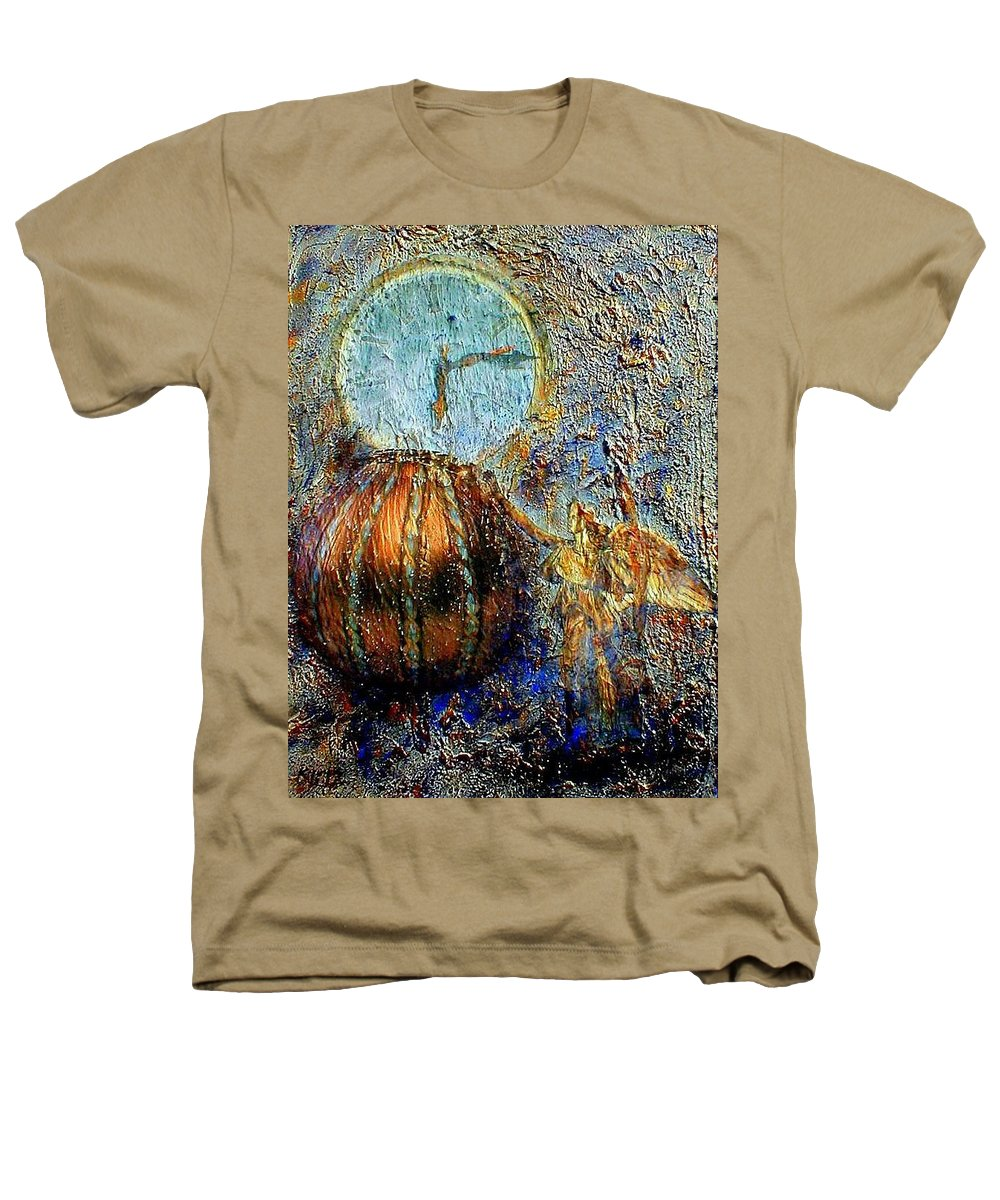 Christian Heathers T-Shirt featuring the mixed media Revelation by Gail Kirtz