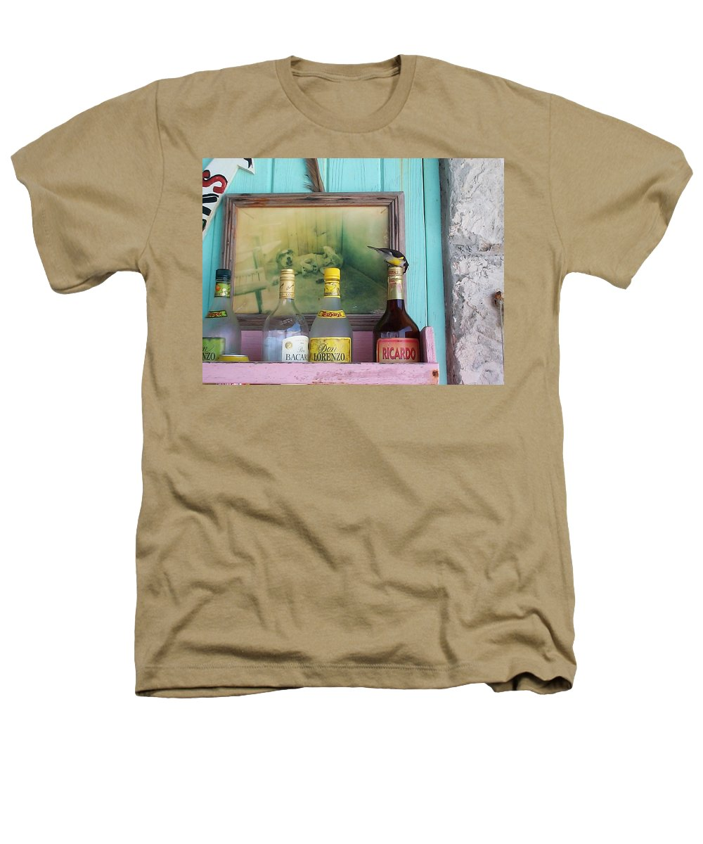 Charity Heathers T-Shirt featuring the photograph Rum Shack Bananaquit by Mary-Lee Sanders