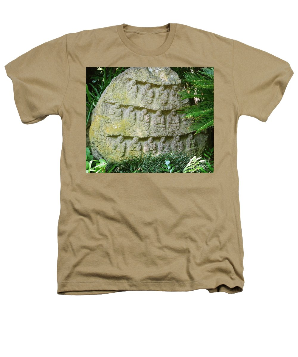 Stone Heathers T-Shirt featuring the photograph Sacred Stone by Dean Triolo
