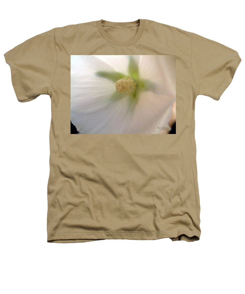 Blossom Heathers T-Shirt featuring the photograph Shimmer by RC DeWinter