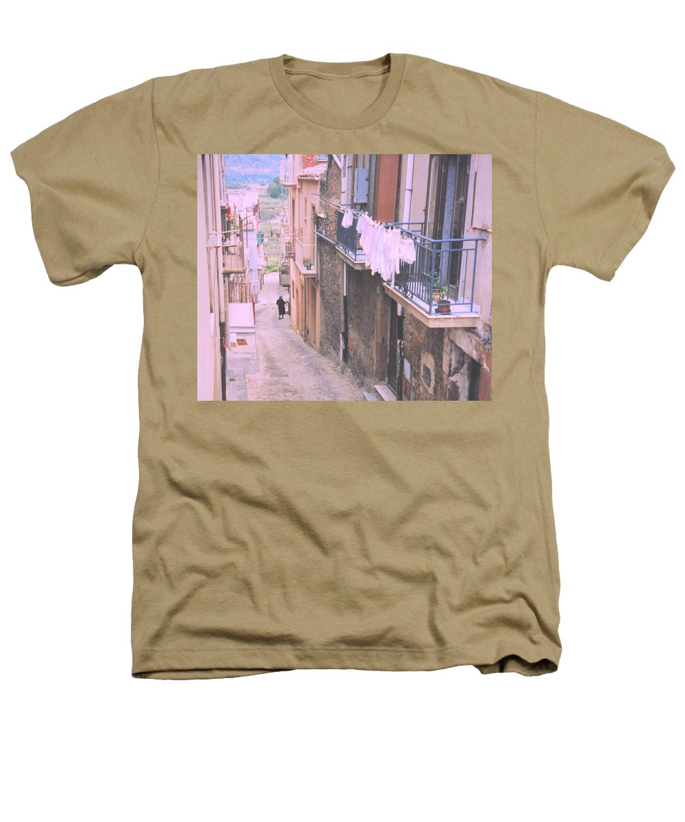 Sicily Heathers T-Shirt featuring the photograph Sicily by Ian MacDonald