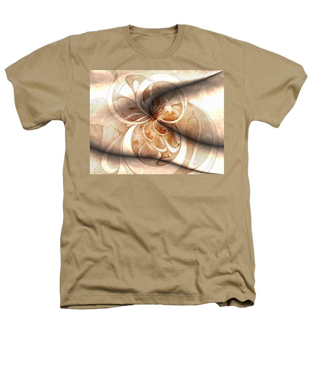 Digital Art Heathers T-Shirt featuring the digital art Silk by Amanda Moore