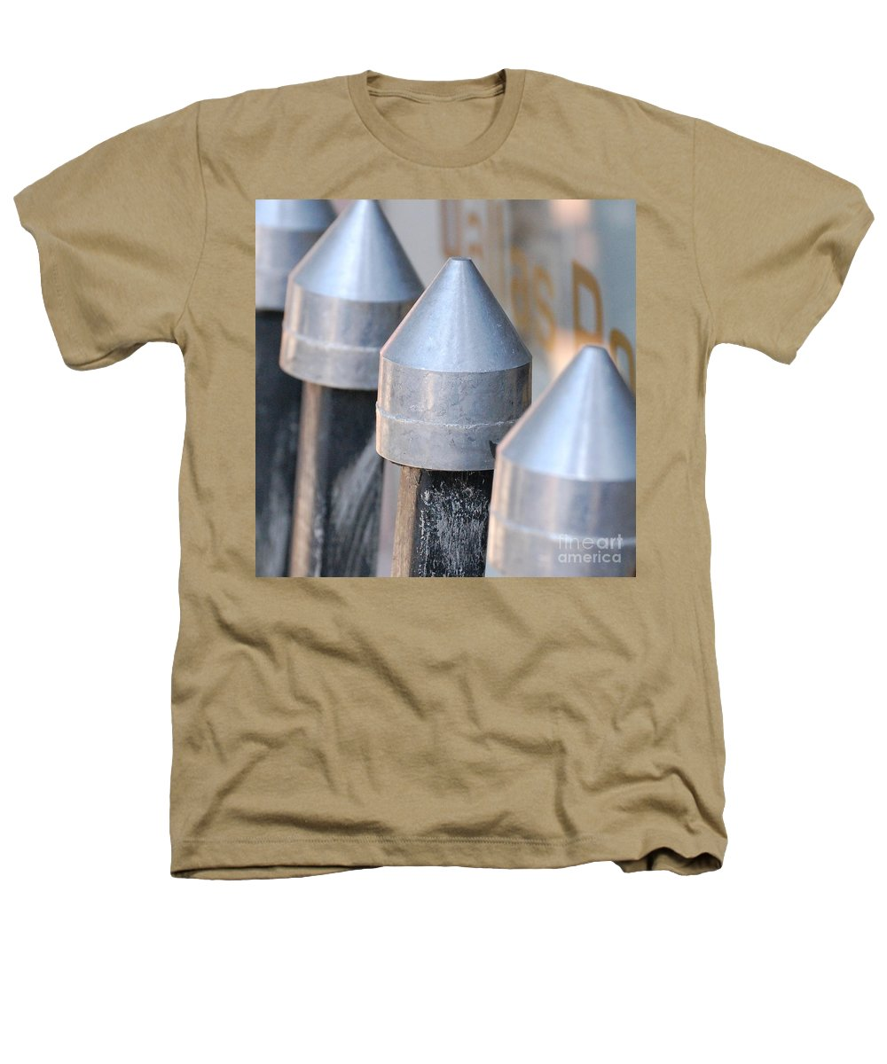 Gate Heathers T-Shirt featuring the photograph Silver Bullets by Debbi Granruth