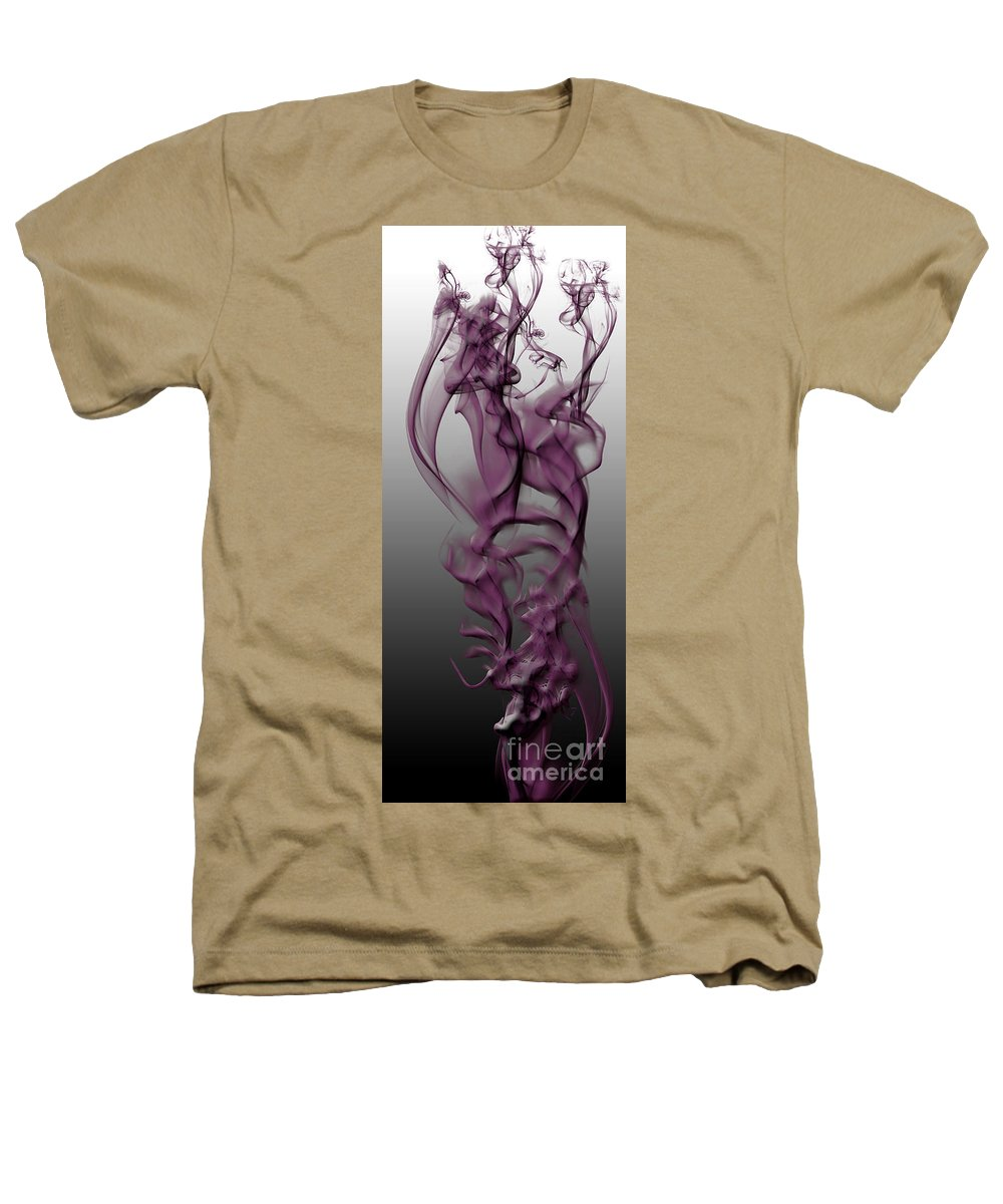 Clay Heathers T-Shirt featuring the digital art Skeletal Flow by Clayton Bruster