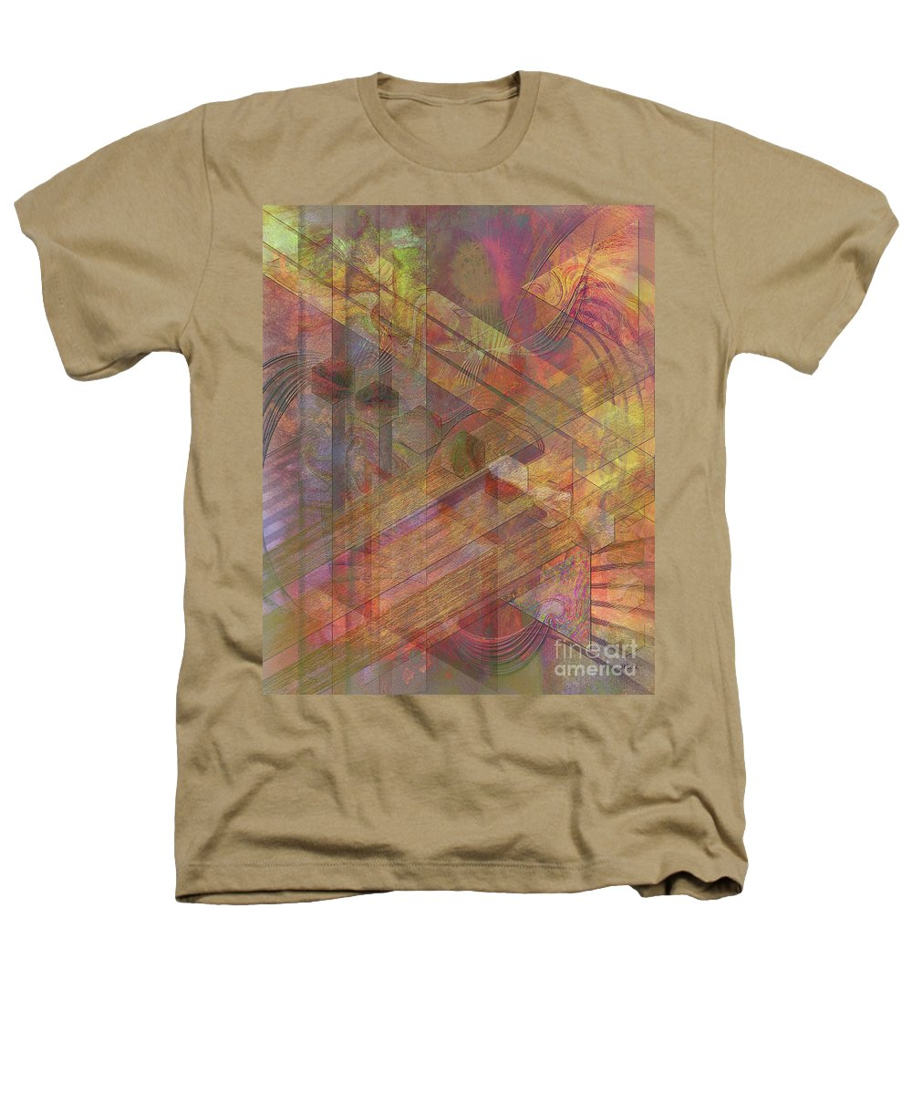 Soft Fantasia Heathers T-Shirt featuring the digital art Soft Fantasia by John Beck