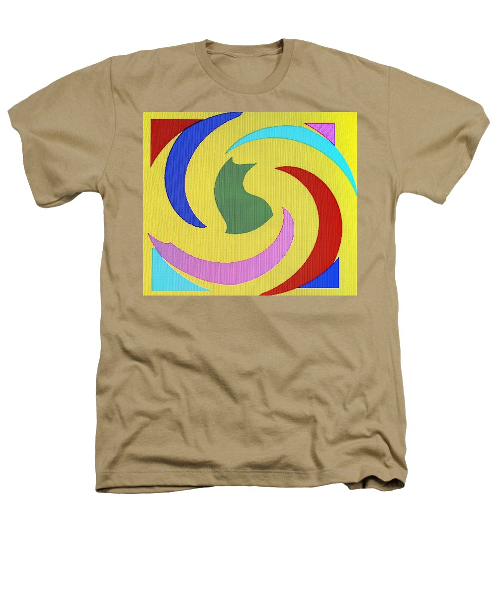 Abstract Heathers T-Shirt featuring the digital art Spiral Three by Ian MacDonald